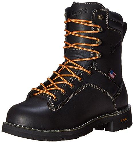 Danner Men's Quarry USA 8-Inch AT Work Boot,Black