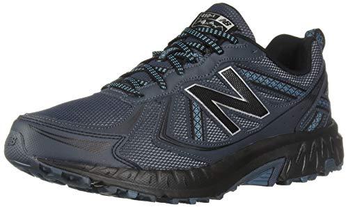 New Balance Men's 410v5 Cushioning Trail Running Shoe, Petrol/Cadet/Black, 10 4E US