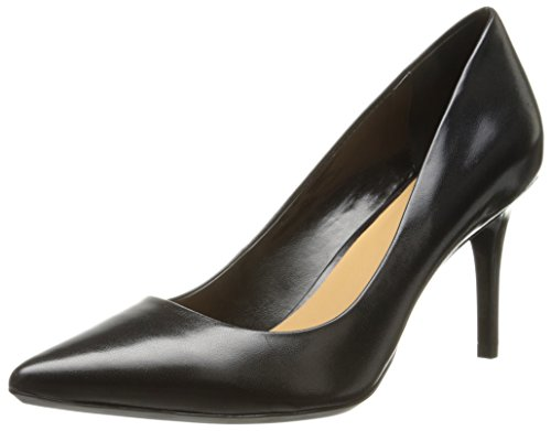 Calvin Klein Women's Gayle Pump, Black Leather