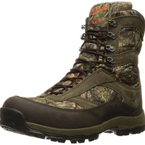 "Danner Men's High Ground 8"" Hunting Shoes, Mossy Oak Break Up Country"