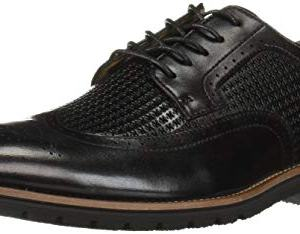 STACY ADAMS Men's Emile Wingtip Oxford, Black