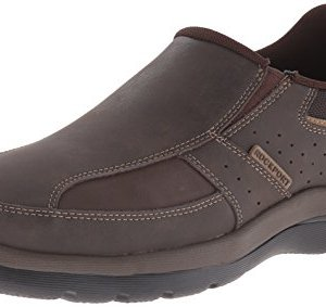 Rockport Men's Get Your Kicks Slip-On Brown Loafer
