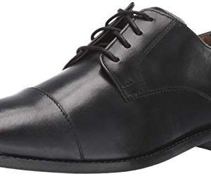 Florsheim Men's Montinaro Cap Toe Dress Shoe Lace Up Oxford, Black