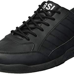 BSI Men's Basic #521 Bowling Shoes, Black, Size 8.0