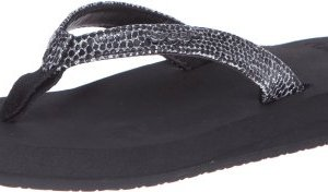 Reef Women's Sandals Star Cushion Sassy | Glitter Flip Flops for Women