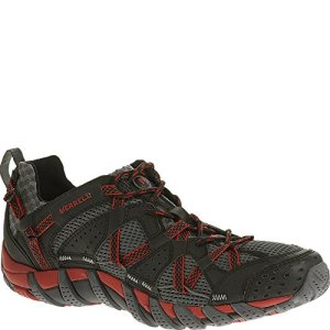 Merrell Men's Waterpro Maipo Water Shoe, Black/Red, 10 M US