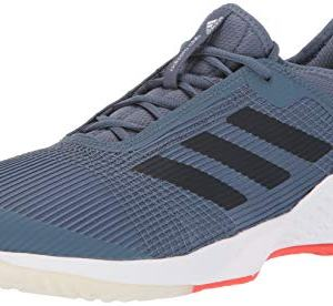 adidas Men's Adizero Club Football Shoe, tech Legend Ink/Active Orange