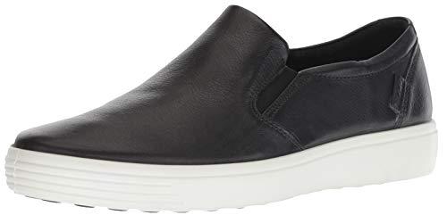 ECCO Men's Soft 7 Casual Loafer Sneaker, Black