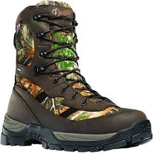 "Danner Men's Alsea 8"" GTX 400G Hunting Shoe, Realtree Edge"