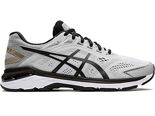 ASICS Men's Running Shoes, 9.5M, MID Grey/Black
