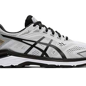 ASICS Men's Running Shoes, 9.5M, MID Grey/Black