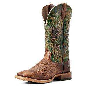 ARIAT Men's Cowhand Western Boot Tobacco Toffee