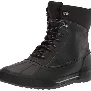 Clarks Men's Bowman Peak Boot, black leather