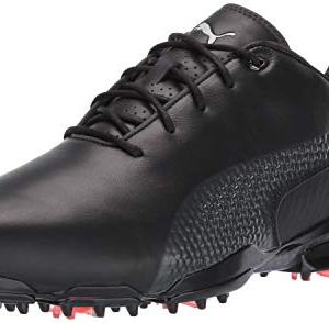 Puma Golf Men's Ignite PROADAPT Golf Shoe, Puma Black-Dark Shadow