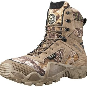 "Irish Setter Men's 2870 Vaprtrek Waterproof 8"" Hunting Boot, Realtree Xtra Camouflage,9 D US"