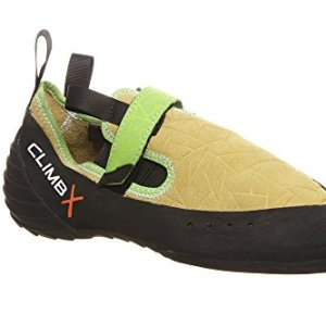 Climb X Zion Climbing Shoe with Free Sickle M-16 Climbing Brush (Men's 4, Yellow)
