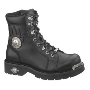 Harley-Davidson Men's Diversion Boot,Black