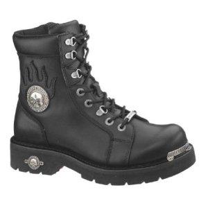 Harley-Davidson Men's Diversion Boot,Black