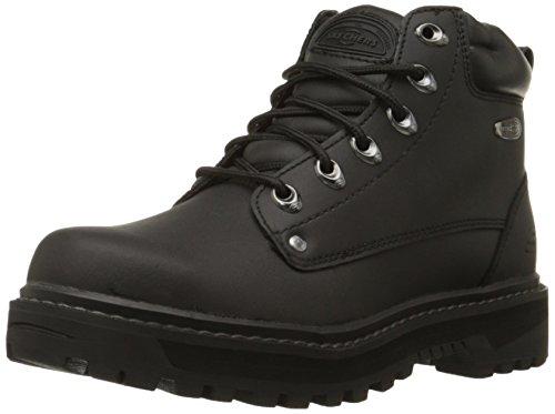 Skechers Men's Pilot Utility Boot,Black