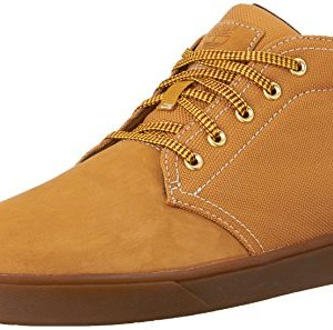 Timberland Men's Groveton Leather/Fabric Chukka, Wheat Nubuck