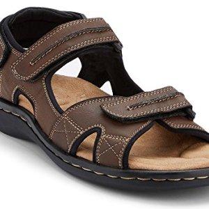 Dockers Men's Newpage Sporty Outdoor Sandal Shoe,Briar
