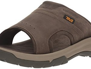 Teva Men's M Langdon Slide Sandal, Walnut, 11 M US