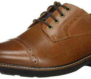 Nunn Bush Men Overland Cap Toe Oxford Lace Up with KORE Technology