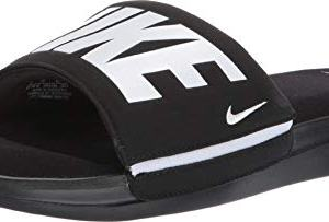 Nike Men's Ultra Comfort 3 Slide Sandal Black/White Size 14 M US