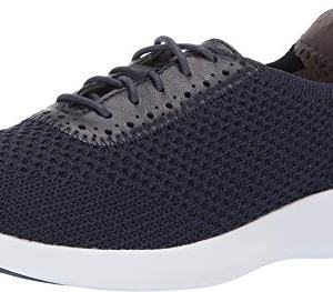 Cole Haan Women's 2.0 Ella Grand Knit Oxford Marine Blue Knit/Leather/Optic