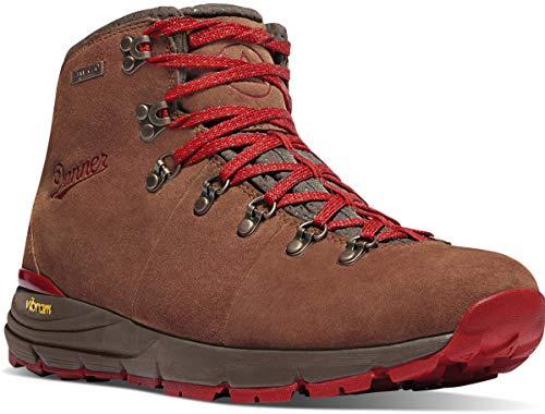 "Danner Men's Mountain 4.5"" Hiking Boot, Brown/Red"