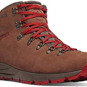 "Danner Men's Mountain 4.5"" Hiking Boot, Brown/Red"