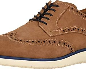 Florsheim Mens Fuel Wingtip Tan Nubuck Oxford