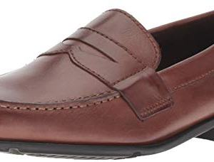 Rockport Men's Classic Lite Penny Loafer, Dark Brown