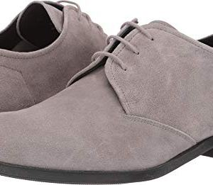 Hugo Boss BOSS Men's Boheme Suede Derby by Hugo Light Grey