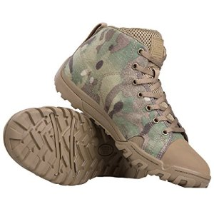FREE SOLDIER Men's Tactical Boots Ankle Boots Lightweight Breathable
