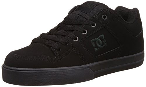 DC Men's Pure Shoes, Black/Pirate Black, 10.5 D US