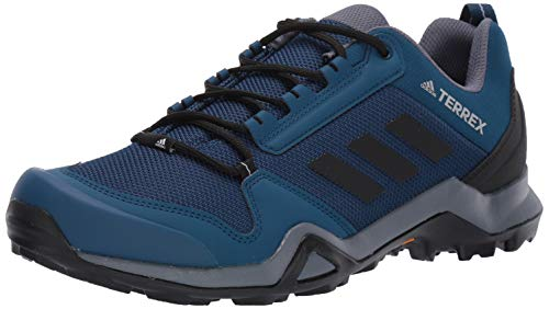 adidas outdoor Men's Terrex AX3 Hiking Boot, Legend Marine/Black/Onix, 11 M US