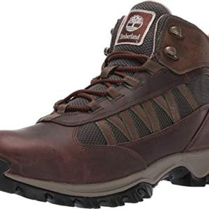 Timberland Mens Mt. Maddsen Lite Mid Outdoor Boots, Dark Brown