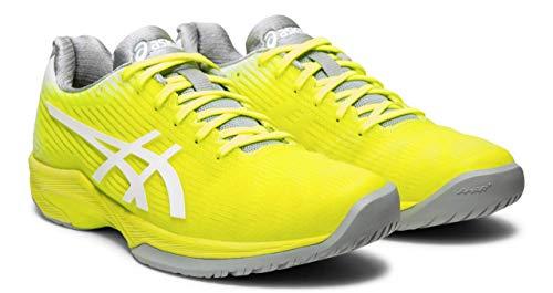ASICS Solution Speed FF Women's Tennis Shoe, Safety Yellow/White