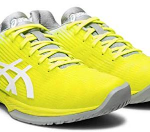 ASICS Solution Speed FF Women's Tennis Shoe, Safety Yellow/White