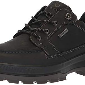 ECCO Men's Rugged Track Gore-TEX Moc Tie Hiking Shoe