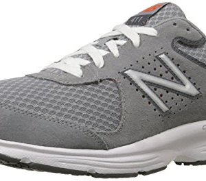 New Balance Men's MW411v2 Walking Shoe, Grey, 8.5 D US
