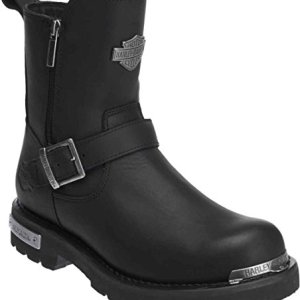 HARLEY-DAVIDSON Men's Startex Motorcycle Boot, Black