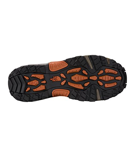 The North Face Men's Chilkat III Pull-On - Mudpack Brown & Bombay Orange The North Face Men's Chilkat III Pull-On - Mudpack Brown & Bombay Orange - 11.5.