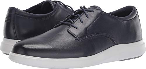Cole Haan Men's Grand Plus Essex Wedge Oxford, Navy Leather