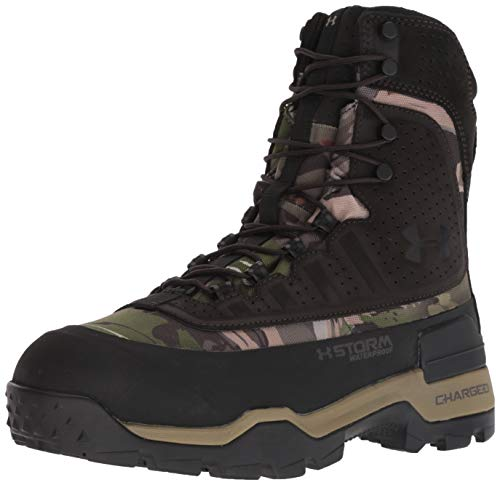 Under Armour Men's Brow Tine 2.0-800G Ankle Boot, Ridge Reaper Camo Fo (900)/Cannon, 11 M US