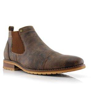 Ferro Aldo Sterling Mens Casual Chelsea Slip on Ankle Boots