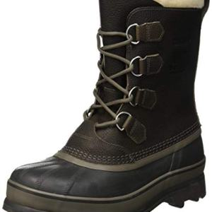 Sorel Men's Caribou WL Snow Boot, Quarry, Buffalo