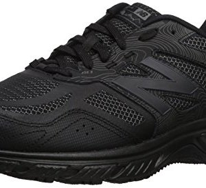 New Balance Men's 510v4 Cushioning Trail Running Shoe, Black, 12 4E US