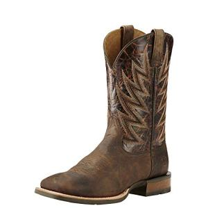 Ariat Men's Challenger Western Cowboy Boot, Branding Iron Brown/Brindle